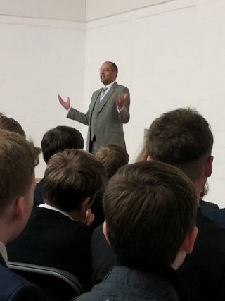 UTC Oxfordshire » Celebrity inspires UTC Oxfordshire students